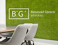 Brand Identity for Law Firm Bieszczad&Górecki