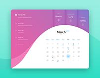 UI Elements: Calendar