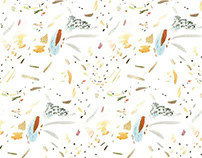 Ink Splotch Pattern