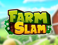 WonderFarm and Farmslam mobile game logo