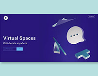Virtual Spaces Paper Hero