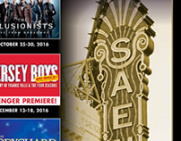 Broadway in New Orleans 2016 - 1 Sheet
