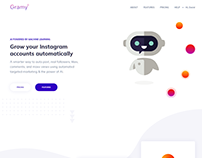 Gramy.io - AI Powered by Machine Learning