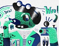Various Illustrations 2013
