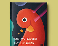 Gustave Flaubert - Book Cover Illustration