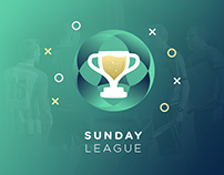Sunday League | UX-UI Design - Travail de fin d'études