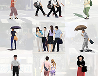 People are coming and going 7408/201708B