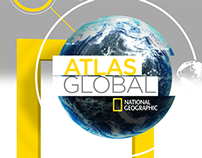 Atlas Global National Geographic