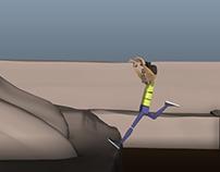Body mechanics animation