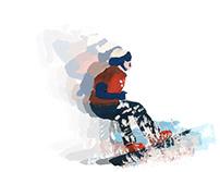 Czech athletes: animation