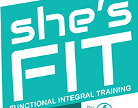 She's Fit Logo and Social Media