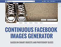 Continuous Facebook Cover Generator