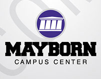 Mayborn Campus Center Logo Design, 2014