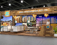 Gera Developers Exhibition Design for Property Show