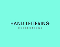 Hand lettering Collection 2016