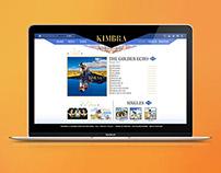 KIMBRA - THE GOLDEN ECHO   Web Design - Diseño Web