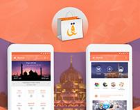 Muslim Pray Time Schedule App Design
