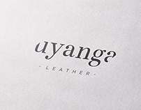 """ Uyanga Leather "" Branding"