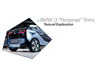 BMWi3 Color and Trim