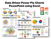 Data Driven Power Pie Charts for PowerPoint