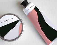 CEASELESS cosmetics brand packaging