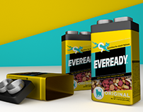 Eveready Batteries + Catfood