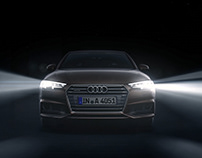 """Audi A4 Matrix LED"" Animation"
