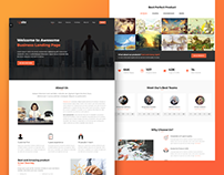 Upsite Landing Page - Responsive Business Template