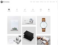 Portfolio Masonry Style - Minimalist WordPress Theme