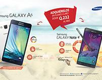 Anuncio Revista Samsung Galaxy - Diseño Gráfico