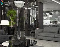 House in Sofia -livingroom