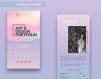 @jackiekdesigns | Personal Branding Identity