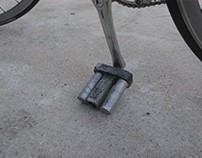 Cast bicycle pedals