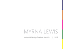 Industrial Design Student Portfolio 2017