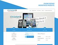 Phone Repair Website
