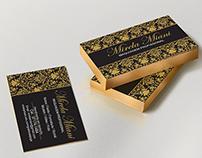 Cartão de Visitas - Mirela Miani