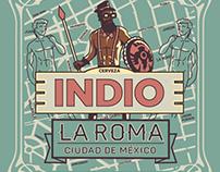 Etiquetas de Barrios Indio: El Lado Auténtico de México