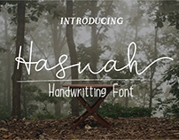 HASNAH SCRIPT - FREE HANDLETTERING FONT