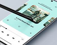 Music Player UI/UX