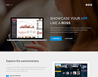 App!Land - Responsive Bootstrap Multi-Purpose Landing P