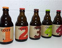 Identité visuelle - Bière COZY