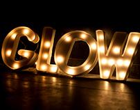 Glow - Typography