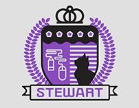 Stewart Family Crest — Logo