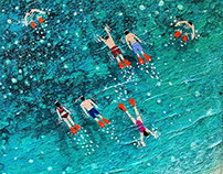Crossing the Reef - SOLD