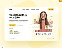 Heal UI Design