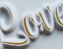 """Love"" Paper Type"