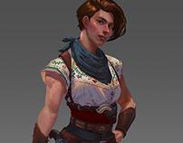 Charlotte- Character Design