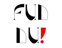 Fuddu ( a display font)
