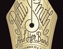 Patti Smith Fillmore Poster