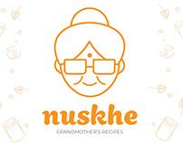 Nuskhe Face Wash Package Design